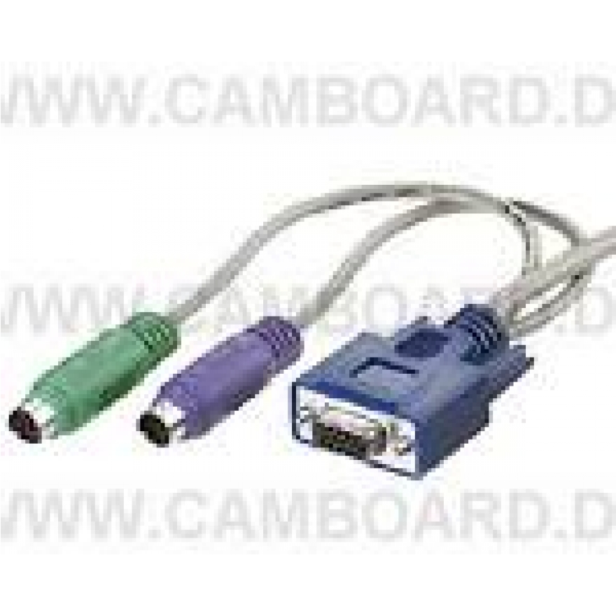 KVM Switch Kabelset (PS/2) Slimline 5,0m