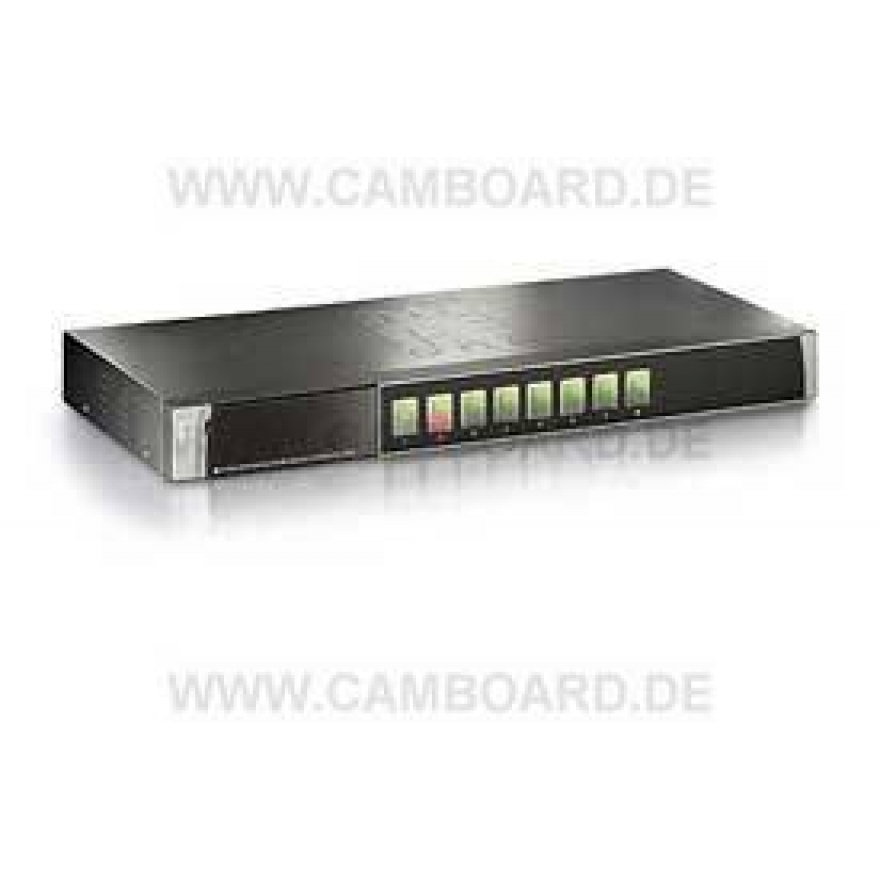 KVM-0810 8-Port KVM-Switch PS/2 mit OSD