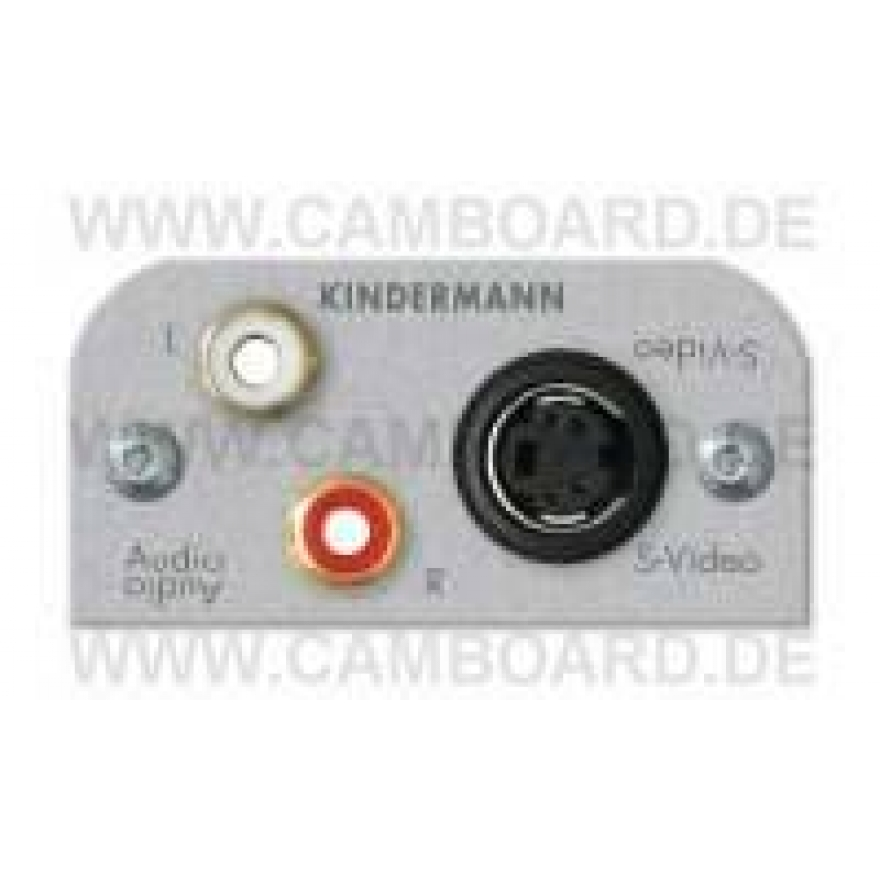 Kindermann Audio L/R,S-Video
