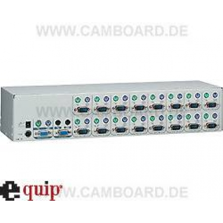 KVM Konsole Switch 1User->8PC