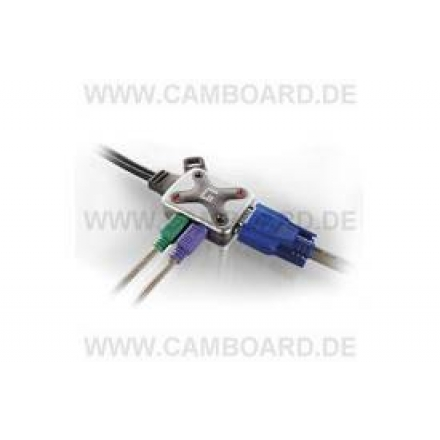 KVM-0202 2-Port Cable-KVM-Switch