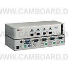 KVM Switch USB/PSII 4/1 inkl. 3 x PSII
