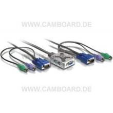 KVM-0201 2-Port Cable-KVM-Switch PS/2