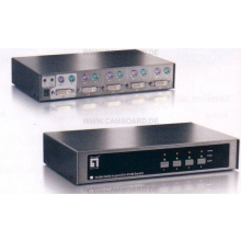 2 Port PS/2 DVI KVM Switch