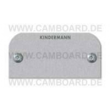 Kindermann VGA Blindblende Alu