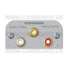 Kindermann Video,Audio L/R L Alu