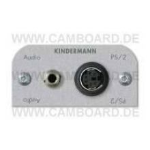 Kindermann Audio Klinke,PS/2